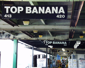 Top Banana Outside View